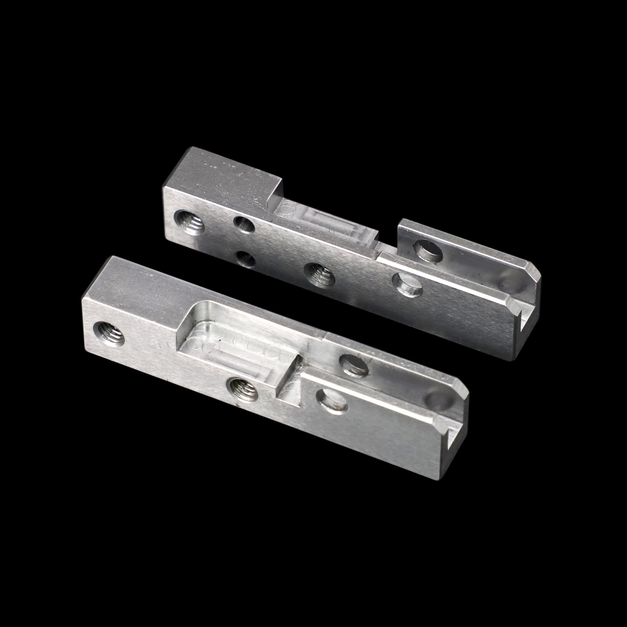 Laser Cutting Anodized AL7075 Aluminum CNC Turning Parts